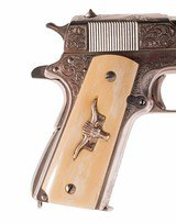 Remington-Rand 1911 – ENGRAVED, NICKEL, IVORY, vintage firearms inc - 5 of 14