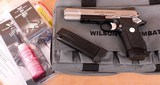 Wilson Combat EDC X9L – STAINLESS/BLACK ACCENTS, NEW, 18 +1 9MM, vintage firearms inc