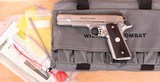 Wilson Combat 9mm – CLASSIC, STAINLESS, AS NEW, GREAT BUY, vintage firearms inc