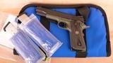 Wilson Combat .45 – TACTICAL ELITE, 100% AS NEW, CASE, PAPERS, vintage firearms inc