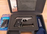 Sig Sauer P230SL .380acp pistol - DA/SA WITH DECOCKER!