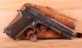 "Colt 1911 .45 acp – U.S. ""TRANSITION MODEL"", PROVENANCE, vintage firearms inc"