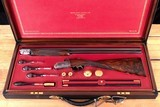David McKay Brown 12 Bore – OVER/UNDER, AWESOME LEATHER CASE, vintage firearms inc - 5 of 26