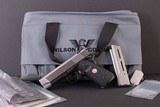 Wilson Combat 9mm – LIGHTWEIGHT COMPACT, AS NEW, CUSTOM ORDER, vintage firearms inc
