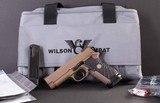 Wilson Combat EDC X9 – NEW, CUSTOM ORDER, FDE, 18 +1, AMBI SAFETY, vintage firearms inc