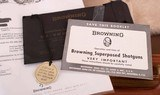 Browning Superposed Midas 28 Gauge – 1 OF 119, AS NEW, LETTER, CASE, vintage firearms inc - 22 of 26