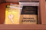 Browning Superposed Midas 28 Gauge – 1 OF 119, AS NEW, LETTER, CASE, vintage firearms inc - 23 of 26