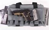 Wilson Combat .45acp – CQB ELITE COMPACT, FLAT DARK EARTH AND BLACK, NEW, vintage firearms inc