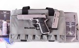 Wilson Combat .45acp – X-TAC, FULL SIZE, MATTE STAINLESS, IN STOCK, NEW, vintage firearms inc - 1 of 17