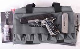 Wilson Combat .45acp – CQB, CUSTOM D'ANGELO AND IVORY GRIPS, MUST SEE! vintage firearms inc - 1 of 17