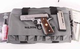 Wilson Combat 9mm - CQB Commander, STAINLESS STEEL, GORGEOUS, AS NEW! vintage firearms inc