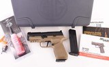 Wilson Combat 9mm - SIG SAUER P320 CARRY, ACTION TUNE, TAN, NEW!