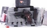 Wilson Combat 9mm – EDC X9, VFI SIGNATURE, BLACK CHERRY GRIPS, TRIJICON SRO, NEW! vintage firearms inc