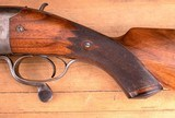 J & W Tolley 4 Bore – 1895, 95% CASE COLOR, vintage firearms inc - 8 of 25