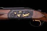 Krieghoff K80 12 Gauge – CROWN, REICH ENGRAVED, COMBO, vintage firearms inc