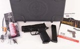 Wilson Combat 9mm - SIG SAUER P320, CARRY, ACTION TUNE, CURVED TRIGGER, NEW vintage firearms inc