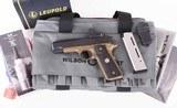 Wilson Combat .45acp – X-TAC COMMANDER, DELTAPOINT PRO, BURNT BRONZE, NEW, vintage firearms inc