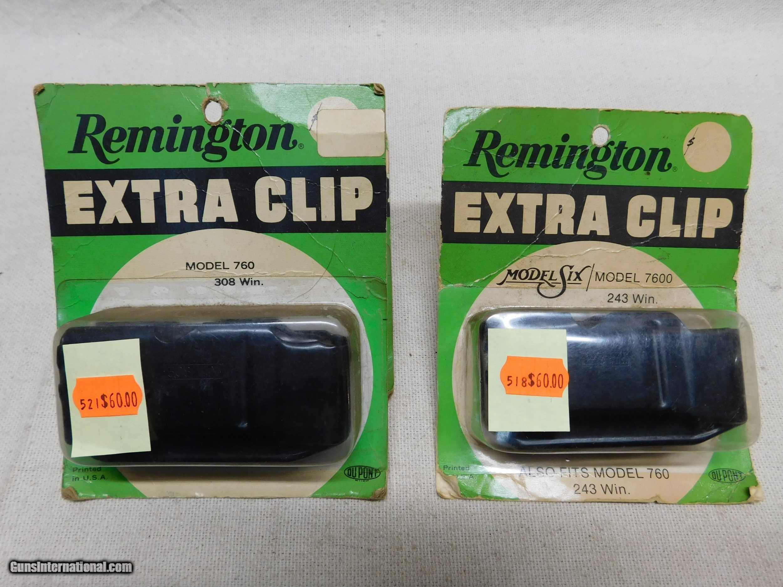 Remington 760--7600 New old Stock Magazines for sale