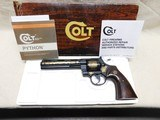 Colt Python Minneapolis Police Special Edition, 357 Magnum