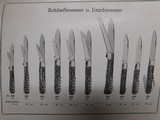 Gerbruder Grafrath Solingen-Widdert German Knife Catalog N0.26 - 5 of 5