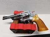 Smith & Wesson Model 27-2 Nickel ,357 Magnum! - 7 of 20