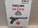 Ruger MKII Government Target Model,22LR - 2 of 18