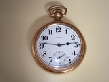 E. HOWARD SERIES 11 Railroad Approved Pocketwatch 1914