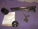 Colt 2nd Gen 1851 Revolver Barrel 36 cal ..& Howell Conviresion for Colt 1851Revolverin 38 cal...