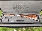 Krieghoff KX6 Special Trap Release Trigger Adjustable Rib