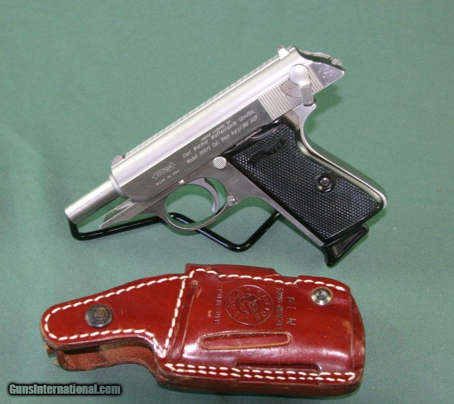 Walther PPK/S 380 ACP James Bond Special
