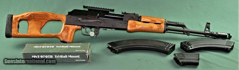 Romanian SAR 1 7 62 x 39 AK 47