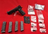Beretta 92 A1 with upgrades and extra mags