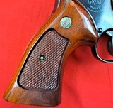 """Smith & Wessonmodel 27-2in 357mag WITH 8 3/8"""" BARREL IN IT'S WOODEN PRESENTATION BOX - 8 of 15"""