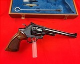 """Smith & Wessonmodel 27-2in 357mag WITH 8 3/8"""" BARREL IN IT'S WOODEN PRESENTATION BOX - 3 of 15"""