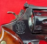 """Smith & Wessonmodel 27-2in 357mag WITH 8 3/8"""" BARREL IN IT'S WOODEN PRESENTATION BOX - 6 of 15"""