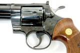 "1978 Colt Python Pistol 6"" Barrel - 15 of 15"