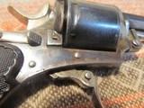 Belgian Folding trigger Pocket Revolver, C+R - 10 of 13