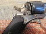Belgian Folding trigger Pocket Revolver, C+R - 4 of 13
