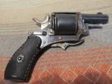 Belgian Folding trigger Pocket Revolver, C+R - 1 of 13