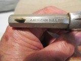 Iver Johnson American Bull Dog Revolver - 6 of 9