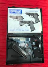 Walther PP 22LR 1982 with box and papers