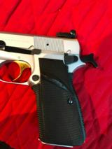 Browning Hi Power 9mm 1982 Silver - 5 of 8