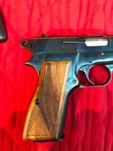 Browning Hi Power 9mm Ring Hammer with extra grips - 3 of 10