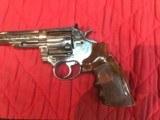 Colt Trooper MK 11122 LR Nickle Finish - 4 of 8