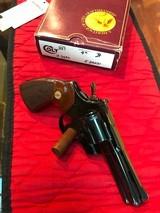 """Colt Python 4"""" Blued - 2 of 13"""