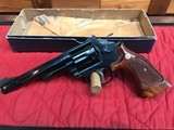 Smith & Wesson 19-4 with original Box and papers