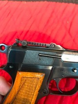 Browning Hi Powerwith slotted back strap - 15 of 15