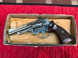 "Smith & Wesson Model 19-4 Nickel 4"" with box"