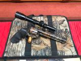 Colt Anaconda Camo with scope and original soft case