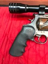 Colt Anaconda Camo with scope and original soft case - 6 of 15